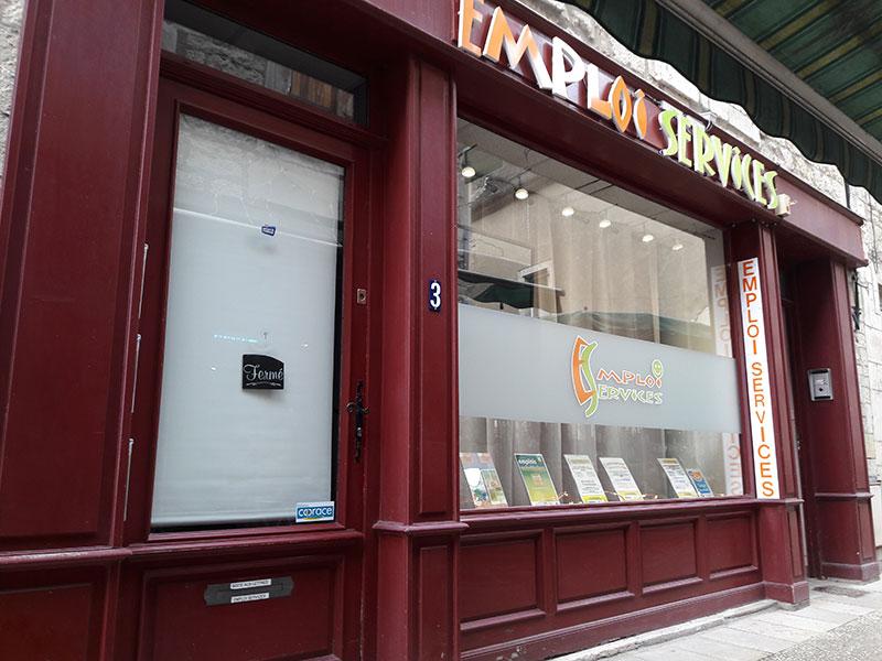 Emploi Services Gramat - Nouvelle vitrine 3 rue de Balme 46500 Gramat