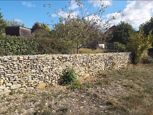 reconstitution mur pierres sèches